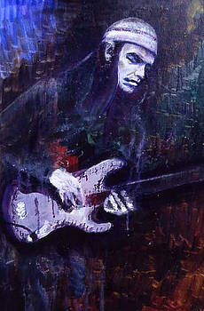 Jaco Pastorius by Grant Aspinall