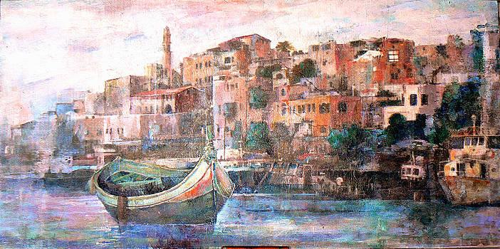 Jafa old port by Baruch Neria-Kandel