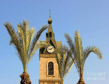 Jaffa Clock Tower by Amr Miqdadi