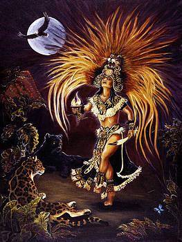 Jaguar Dancer by Ann Beeching