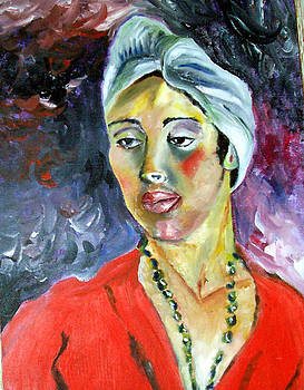 Jamaican woman by Riana Nel