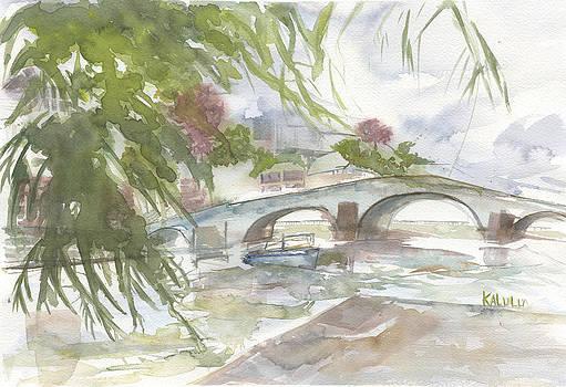Jambes son Pont et sa Citadelle by Bernadette De Bouver