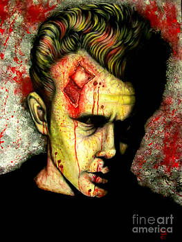 James Dean Zombie by Justin Coffman