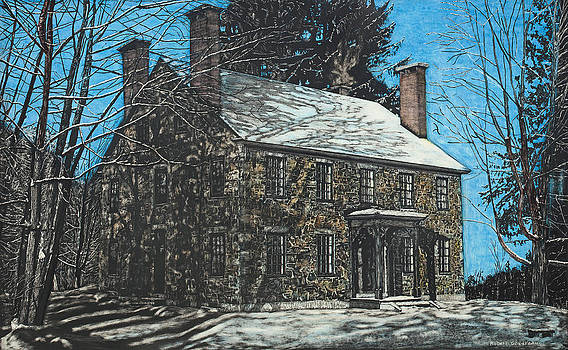 James Paul House in Durham NH by Robert Goudreau