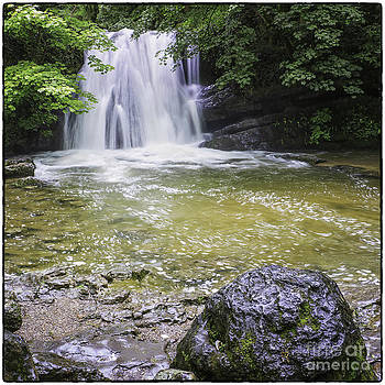Janet's Foss Yorkshire Dales UK by George Hodlin