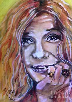 Janis Joplin 1 by Misty Smith