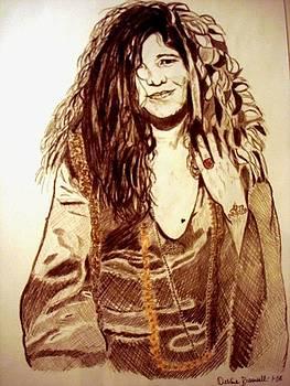 Janis Joplin by Debbie Braswell