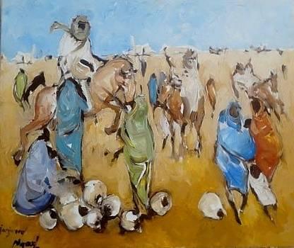 Janjaweed by Negoud Dahab