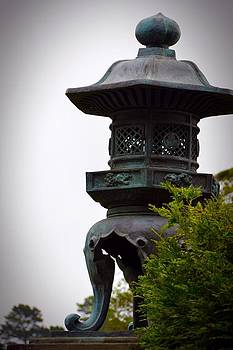 Japaneese Lantern by Usha P