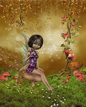 John Junek - Japanese fairy Drawing