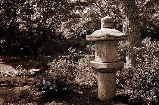 Japanese Garden Ornament at Maymont by Floyd Menezes