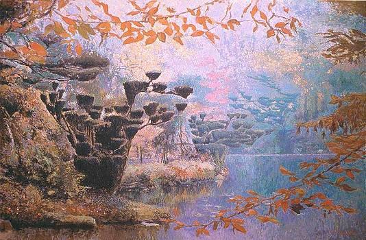 Jardin Japones by Victor  Candela