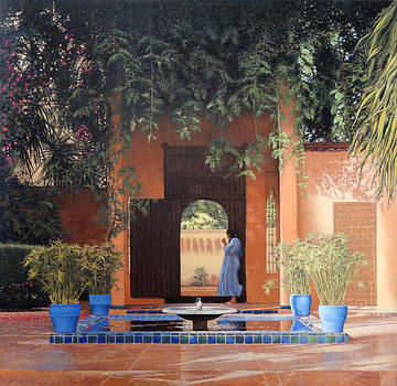 Jardines Majorelle en Marrakesh by Victor  Candela