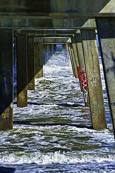 Jax Beach Pier by Frank Feliciano