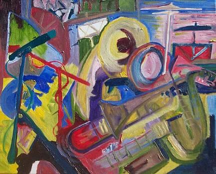 Jazz in the studio  by James Christiansen