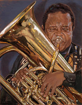 Jazz Legend- Howard Johnson by Larry Seiler