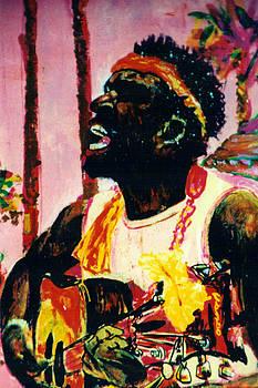 Jazz Musician by Shakti Brien