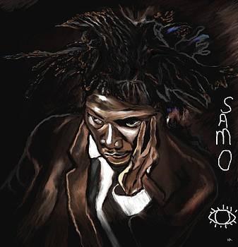 Jean michel Basquiat by Herbert Renard
