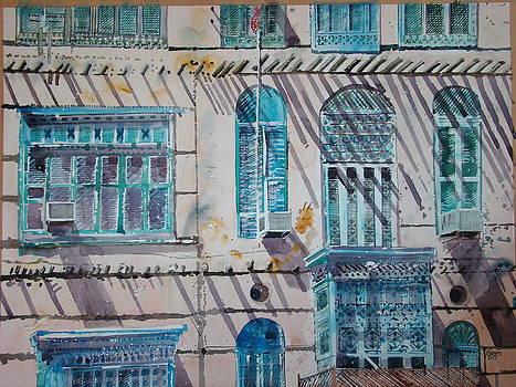 Jeddah Recollection by Martin Giesen