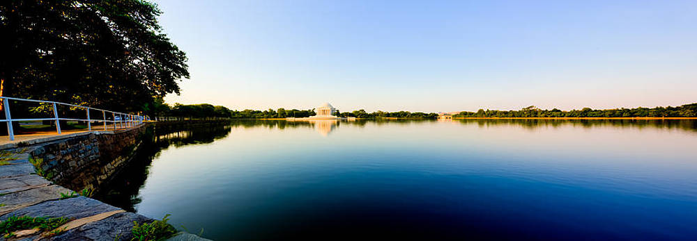 David Hahn - Jefferson Memorial and Tidal Basin Panorama