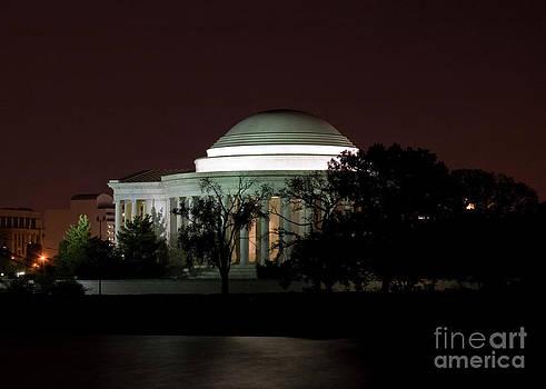 Tim Mulina - Jefferson Memorial at Midnight