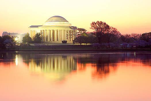 Jefferson Memorial by George Lovelace