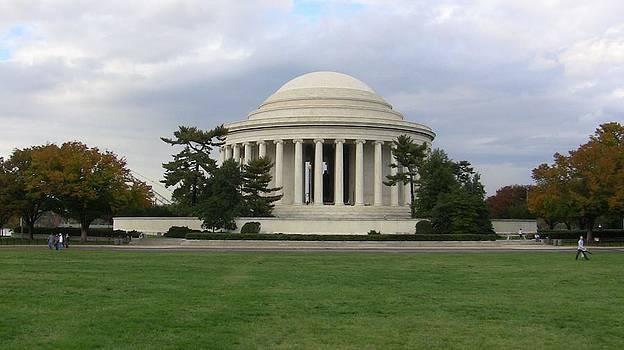 Jefferson Memorial by Tony Hammer