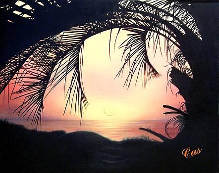 Jekyll Island Sunrise by Karen Casciani