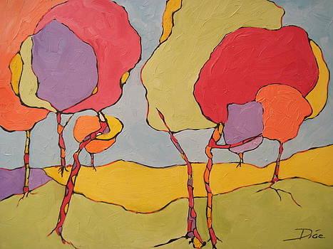 Jelly Bean Trees by Diana Dice