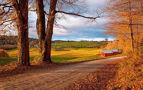 Jenne Farm Woodstock Vermont 6400  by Ken Brodeur