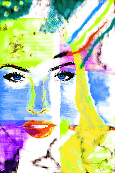 Jennifer Pop Portrait by Lorenzo Spinelli