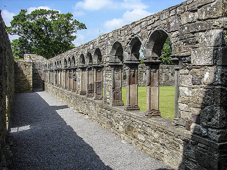 Jerpoint Abbey Arches by Ralph Brannan