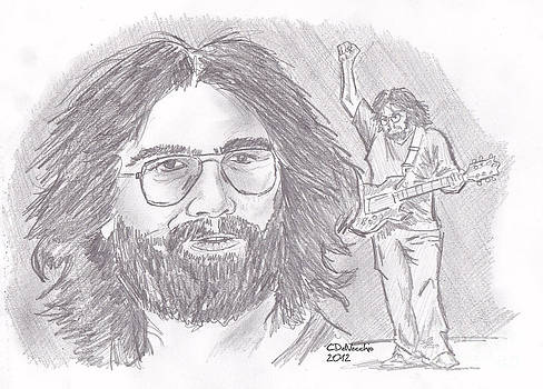 Chris  DelVecchio - Jerry Garcia