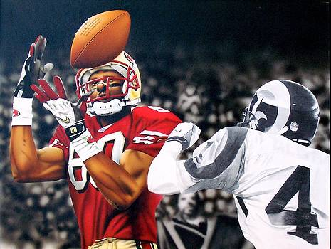 Jerry Rice by Brett Cremeens