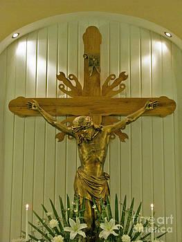 Jesus On The Cross by Ausra Huntington nee Paulauskaite