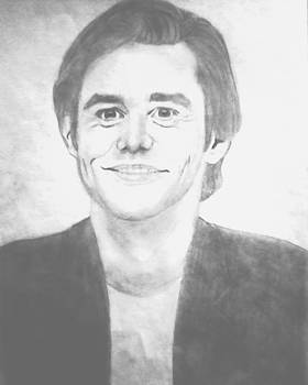 Jim Carrey by Elle Ryanoff