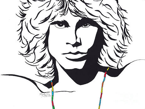 Jim Morrison by Marty Rice