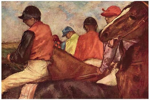 Edgar Degas - Jockeys