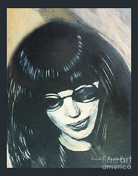 Joey Ramone The Ramones Portrait by Kristi L Randall
