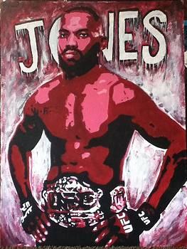 John Bones Jones by Stephen  Hatala