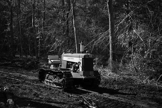 John Deere Tractors Model 430 by George Miller
