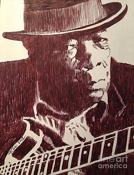 John Lee Hooker by Robbi  Musser