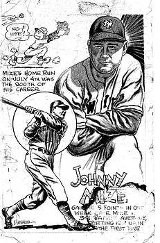 Johnny Mize by Steve Bishop