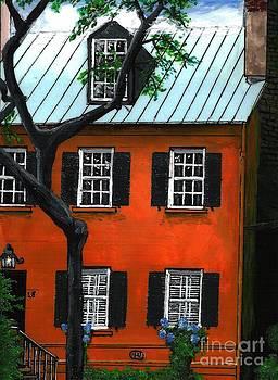 Jones Street Savannah GA by Kris Sperring