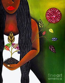Joy Fruition Tree by Mucha Kachidza