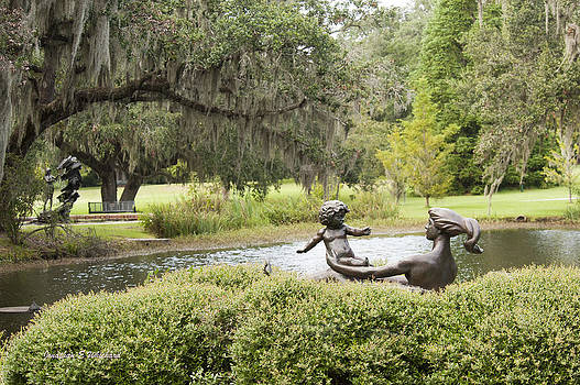 Jonathan Whichard - Joy of Motherhood Willard Hirsch Brookgreen Gardens  South Carolina