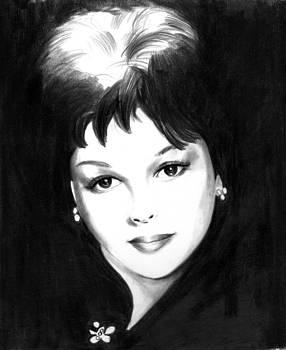 Judy Garland by Michael Delia