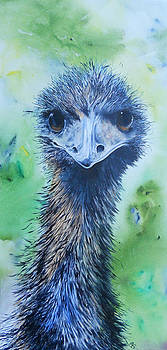 Jul's Emu by Carol McLagan