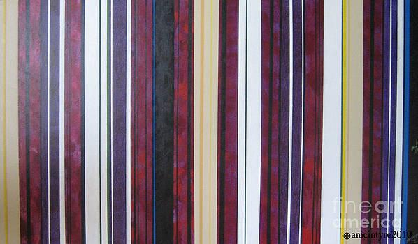 June's Stripes by Amanda McIntyre