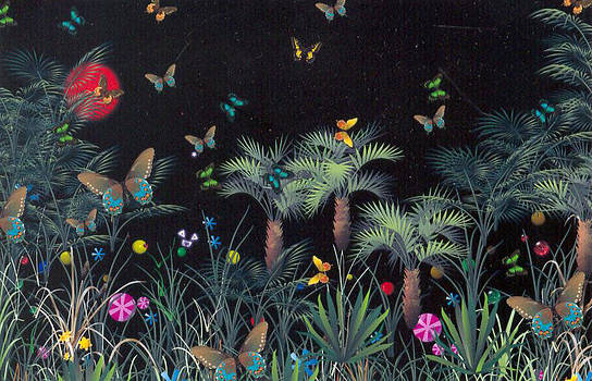 Jungle Night by Barbara Porto